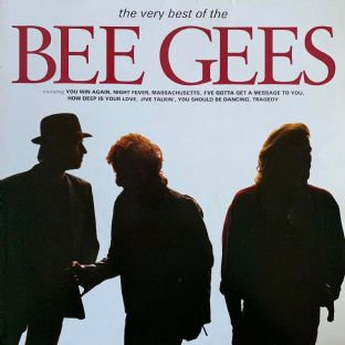Bee Gees ‎- The Very Best Of The Bee Gees (LP) (VG-/VG-)